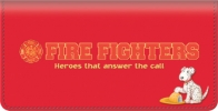 Click on Fire Fighting Checkbook Cover For More Details