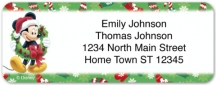 Click on Disney Mickey & Friends Holiday Return Address Label For More Details