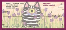 Click on Comical Cats  Personal Checks For More Details