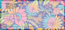 Click on Retroflection Flowers Personal Checks For More Details