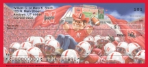 Click on Husker Spirit  Personal Checks For More Details