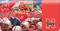Click on Husker Spirit Checkbook Cover For More Details