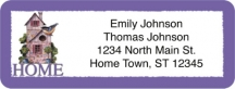 Click on Home Return Address Label For More Details