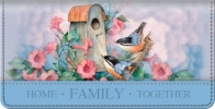 Click on Family Checkbook Cover For More Details