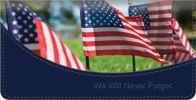 Click on Honoring Our Veterans Checkbook Cover For More Details