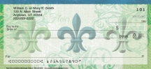 Click on Fleur De Lis  Personal Checks For More Details