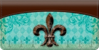 Click on Fleur De Lis Checkbook Cover For More Details