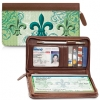 Click on Fleur De Lis Zippered Wallet For More Details