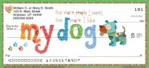 Click on Dogs Rule  Personal Checks For More Details