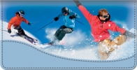 Click on Snow Sports Checkbook Cover For More Details