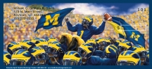 Click on Wolverine Spirit  Personal Checks For More Details