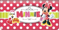 Click on Disney Minnie Fashion Icon Checkbook Cover For More Details