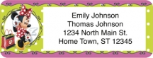 Click on Disney Minnie Fashion Icon Return Address Label For More Details
