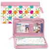 Click on Polka Dot Zippered Wallet Checkbook Cover For More Details
