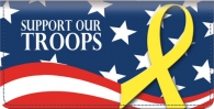 Click on Support Our Troops Checkbook Cover For More Details