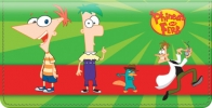 Click on Phineas & Ferb Checkbook Cover For More Details