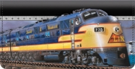Click on Diesel Trains Checkbook Cover For More Details