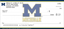 Click on University of Michigan  Personal Checks For More Details