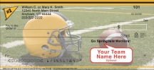 Click on Black & Gold Team Spirit  Personal Checks For More Details