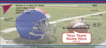 Click on Blue & Red Team Spirit  Personal Checks For More Details