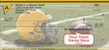 Click on Green & Gold Team Spirit  Personal Checks For More Details
