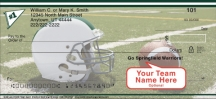 Click on Green & White Team Spirit  Personal Checks For More Details