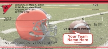 Click on Black & Red Team Spirit  Personal Checks For More Details