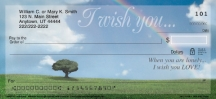 Click on I Wish You Rainbows  Personal Checks For More Details