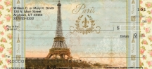 Click on Vue de Paris Personal Checks For More Details