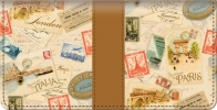 Click on Tour of Europe Checkbook Cover For More Details