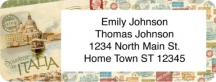 Click on Tour of Europe Return Address Label For More Details