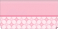 Click on Pink Checkbook Cover For More Details