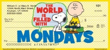 Click on Peanuts Wisdom and Wit Personal Checks For More Details