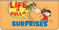 Click on Peanuts Wisdom and Wit Checkbook Cover For More Details