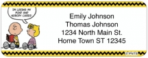 Click on Classic Peanuts Return Address Label For More Details