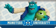 Click on Monsters University Checkbook Cover For More Details