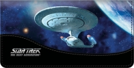 Click on Star Trek Ships Checkbook Cover For More Details