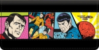 Click on Star Trek Comics Checkbook Cover For More Details