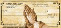Click on Praying Hands Personal Checks For More Details