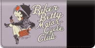 Click on Betty Boop Motorcycle Club Checkbook Cover For More Details