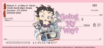 Click on Biker Betty Personal Checks For More Details