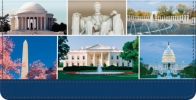 Click on Our Nation's Capital Checkbook Cover For More Details