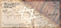 Click on Jewish Symbols of Faith Personal Checks For More Details