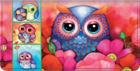 Click on Seasons of the Owl Checkbook Cover For More Details