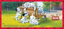 Click on 101 Dalmatians Personal Checks For More Details