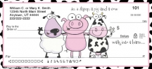 Click on Farm Animal Antics Personal Checks For More Details