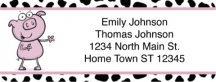 Click on Farm Animal Antics Return Address Label For More Details