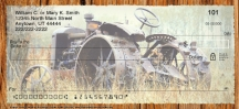 Click on Vintage Tractors Personal Checks For More Details