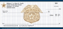 Click on Protect and Serve Personal Checks For More Details