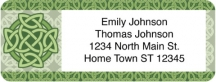 Click on Celtic Knots Return Address Label For More Details